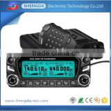 High tech best selling VHF UHF mulit band ham walkie talkie and high range mobile radio transceiver military used car