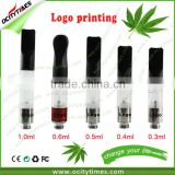 empty ecig cartridge Touch O vape pen empty 1.0ml CBD oil cartridge refillable 510 vaporizer CE3 cbd oil cartridge