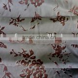 woven twill burnt-out velveteen suitable for sofa fabric and decorative fabric