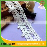 2016 latest styles cotton turkish dry lace fabric for Wedding dress ,Garment,dress,home textile