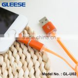 2016 High Quality 2-in-1 USB Data Charge Cable, Micro USB 2-in-1 Cable for Android & IOS