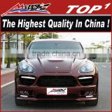 High quality body kit for 2011-2014 Porche Cayene 958 kit EVO wide body HM style middle muffler HM kit