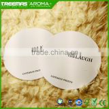 Recycle environmental CMYK print customize design tissue paper coaster for wholesale with factory direct price