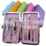 Belifa nail clipper scissor eyebrow tweezer travel manicure set                                                                         Quality Choice