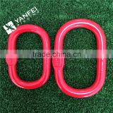 Rigging Hardware Red Color Painted G80 Alloy Steel Forged Chain Master Link