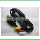 ORIGINAL & Lowest Price CLASSIC GOLD PLATED AV COMPONENT CABLE For XBOX ONE LEAD - BRAND NEW