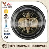 Oem Retro Citizen Wall Clock Waste Material Art Craft