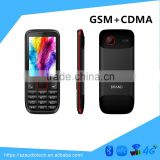 2016 hot selling in africa dual mode CDMA GSM mobile phone