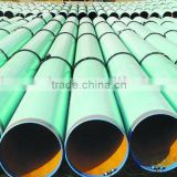 anti-corrosion steel tube,carbon pipe /ASTM A53,GR.B ,API PE COATED