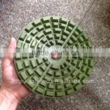 Diamond Resin Abrasive Pad 8 inch (200 mm) for Granite Surface Fine Polishing More Gloss Pad Grit 1500 or 2000