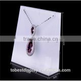 100% new cast sheet luxury frosted acrylic necklace display stand/necklace holder/jewelry display acrylic Shenzhen factory