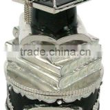 treasure graduation gift craft for trinket boxes,good quality and various designs,passed SGS factory audit