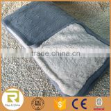 Wholesale 100% Acrylic heavy cable knit sherpa back throw blanket                                                                         Quality Choice