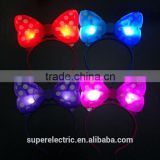 New Fashion Wholesale Custom LED Head Band, LED Baby Head Band With Mickey Minnie Mouse for Party or Birthday