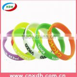 New arrival high quality cheap custom silicone bracelet