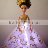 Rechargeable LED Night Light Toys / Blinking Light Clothes for Dolls