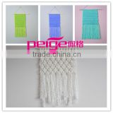 crochet handmade knitted wall hanging , macrame wall hanging