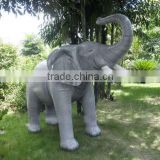 customized inflatable giant elephant/ pvc inflatable advertising elephant model/ inflatable cartoon elephant balloon