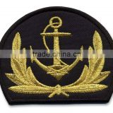 Hand Embroidery Bullion and thread badge supplier