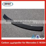 Trunk Boot Spoiler Carbon Fiber V Style Wing Lip for Mercedes C class W204 Roof spoiler
