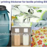 factory supply good color polyester/cotton/cellolose/blend fabrics thickening agent for textile
