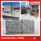 Lightweight non asbestos fireproof calcium silicate board EPS cement sandwich wall panel