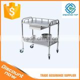 2015 Factory Direct Stainless steel hospital linen trolley