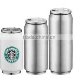 2016 new design thermo travel mug double wall stainless steel cup