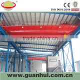 new design double girder electric wheel eot crane