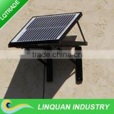 14 inch 15W brush/brushless motor solar gable fan