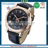FS FLOWER - Heavy Large Watch Case Rose Gold Coating Large Watch Surface Sports Watches Wholesale Western European Man Wear