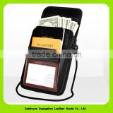 15022 Christmas gifts leather mobile phone holder with strap