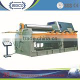 W11F 6x2000mm Plate 3 Roller Asymmetrical rolling machinery , metal sheet roller bending machine for sale