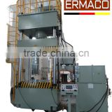 Four-Column Hydraulic Press 800 tons Deep Drawing Metal Forming Machine Bosch Hydraulic System
