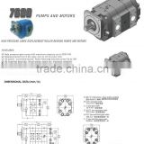 Permco Hydraulic Gear Pump 7600 Series
