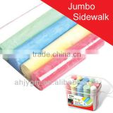 15pcs packing Jumbo Shine Paint Sidewalk Color Chalk/big colored chalk