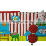 hot sales English baby fabric book educational toys