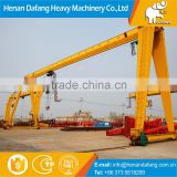 Remote Pendent Cabin Control Crane and Easy Operate Single Girder Gantry Crane 5 Ton 10 Ton 20 Ton with Limit Switch