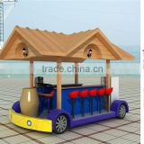 Bestar 2015 Best Price Mobile Street Fully Customized Hot Dog Coffee Food Carts coffee Shop