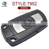 Best Price Original Auto 2 Button Smart Card With Keyless go for BMW 3,5 Series(868MHz) AK006041