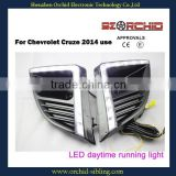 wholesale waterproof led daytime running light DRL for Chevrolet Cruze overseas 2014 use