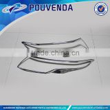 Chrome accessories Head light cover For Ranger rover Evoque reading lamp frame from Pouvenda