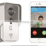 wifi moblie phone video camera detection ID card access door bell