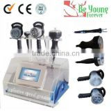 Wholesale - Promotion- 5in1 Ultrasonic Liposuction Cavitation Vacuum Bipolar Ultrasonic Contour 3 In 1 Slimming Device RF Slimming Machine BIO Face Skin /CE (RS-05) Cellulite Reduction