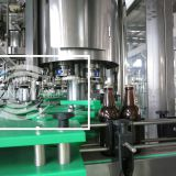 Longway PLC Control Automatic 32-32-10 glass bottle with pulling cap for liquor filling machine for beer or carbonated