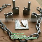 GATE LOCK PLATE AND CHAIN LINK FOR SHEEP GATES