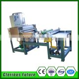 Stainless steel roller wax foundation machine/beeswax foundation embossing machine