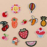 New China Custom Iron on Patches Embroidery For Clothing Accessories