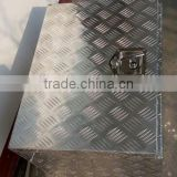 "Custom 24"" Truck Tool Box Aluminum Trailer Truck Pickup Underbody Underbed Tongue Tool Box Storage"