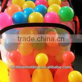 custom plastic 6g-20g bowling ball toy for children Plastic Hollow Ball